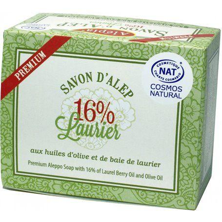 Savon d'Alep Premium 16% Laurier Alepia - 2